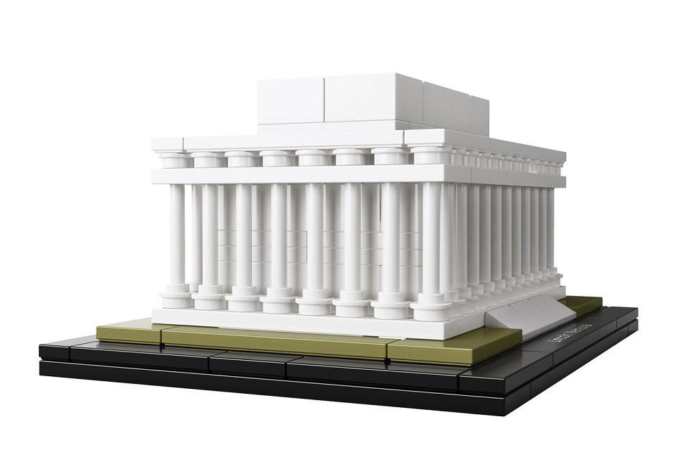 Monumento a Lincoln. Image © © LEGO