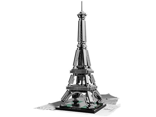 La Torre Eiffel. Image © © LEGO