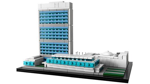 Sede de las Naciones Unidas. Image © © LEGO