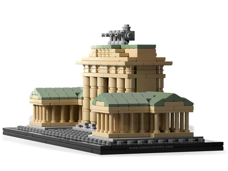 La Puerta de Brandenburgo. Image © © LEGO