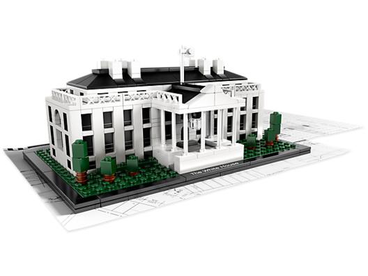 La Casa Blanca. Image © © LEGO