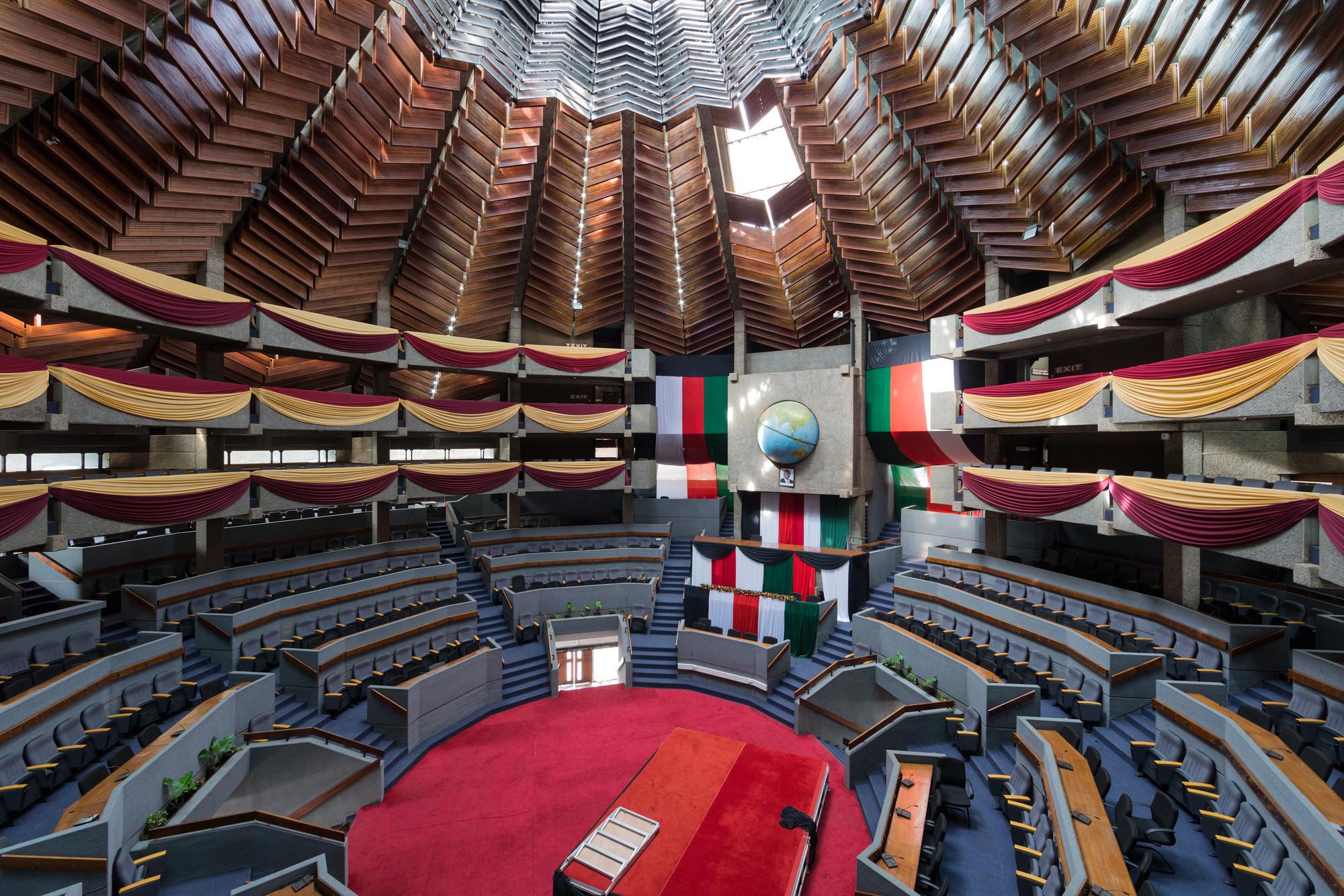 Centro de Conferencias Internacionales de Kenyatta, Nairobi (Kenya) por Karl Henrik Nostvik, 1967-1973. Imagen © Iwan Baan