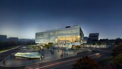 Construction Begins on OPEN's Pingshan Performing Arts Center in Shenzhen
