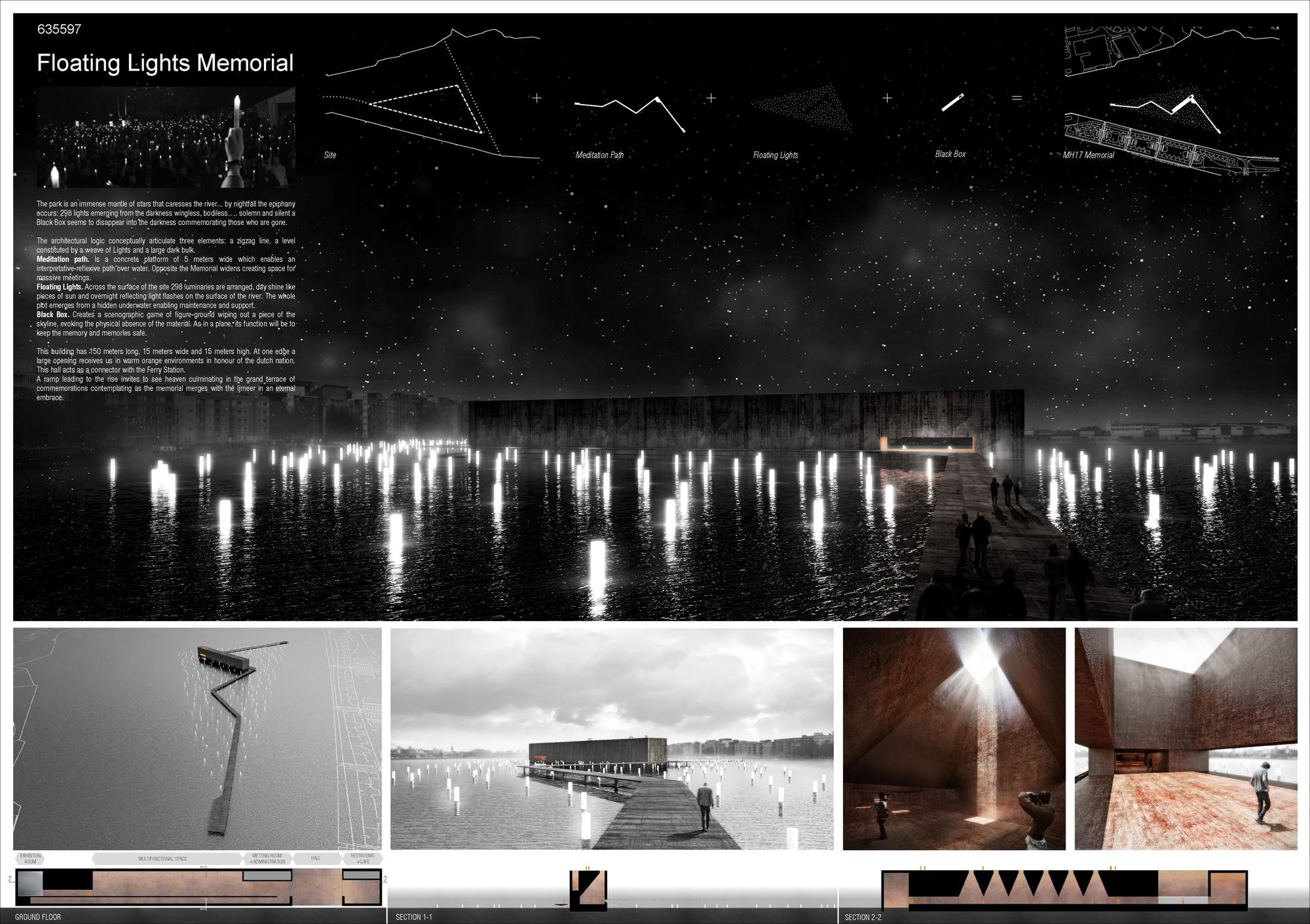 Lámina #01. Image Cortesia de Equipo Tercer Lugar