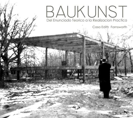 """""""Mies, el proyecto como revelación de Lugar"""". Barcelona. Fundación Caja de colores. Image © Cristina Gastón"""
