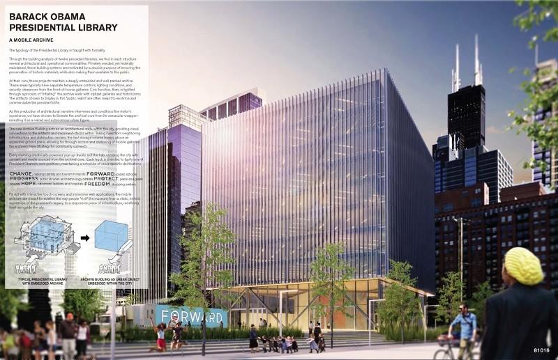 Mención honrosa / Drew Cowdrey y Trey Kirk. Imagen cortesía de Chicago Architectural Club
