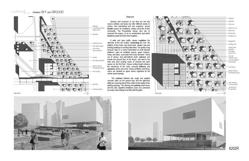Mención honrosa / Dániel Palotai. Imagen cortesía de Chicago Architectural Club