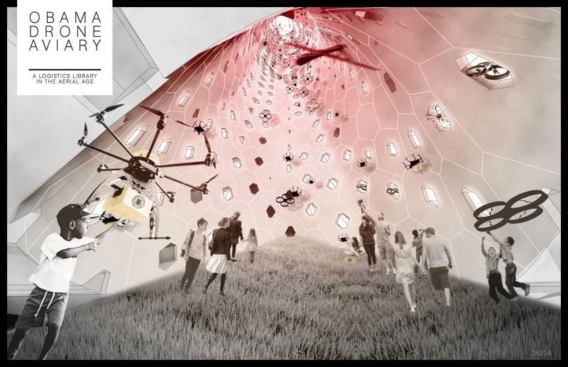 Mención honrosa / Ann Lui y Craig Reschke. Imagen cortesía de Chicago Architectural Club