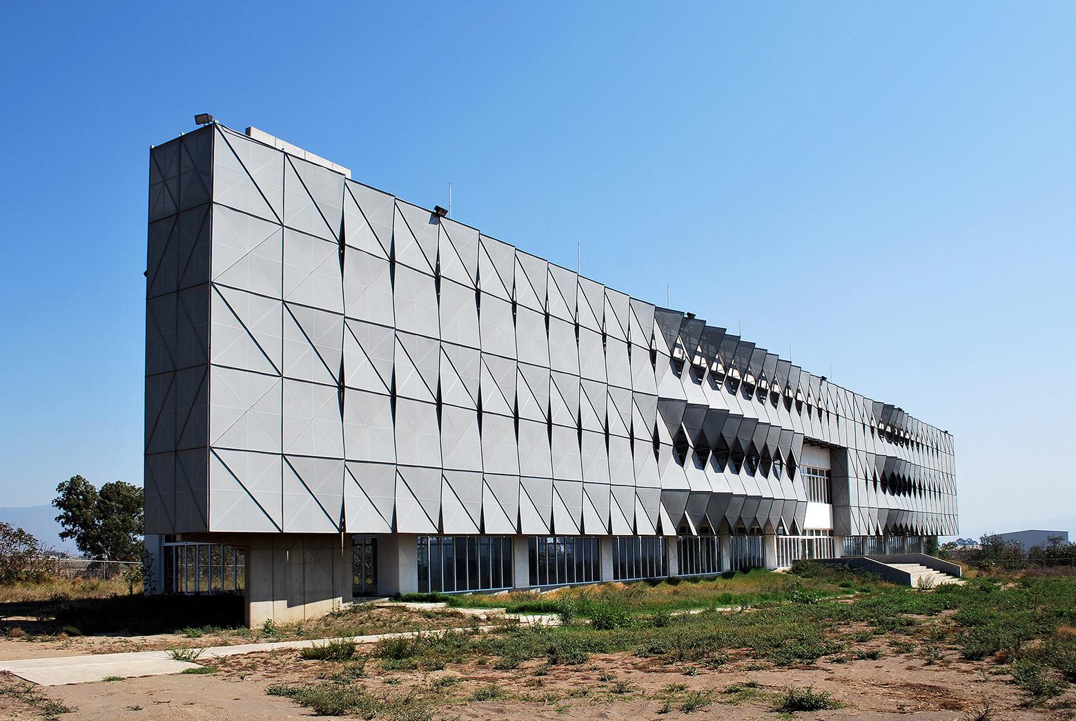 Fachada Edificio de Software IJALTI / LEAP Laboratorio en Arquitectura Progresiva, © Heriberto Hernández Ochoa