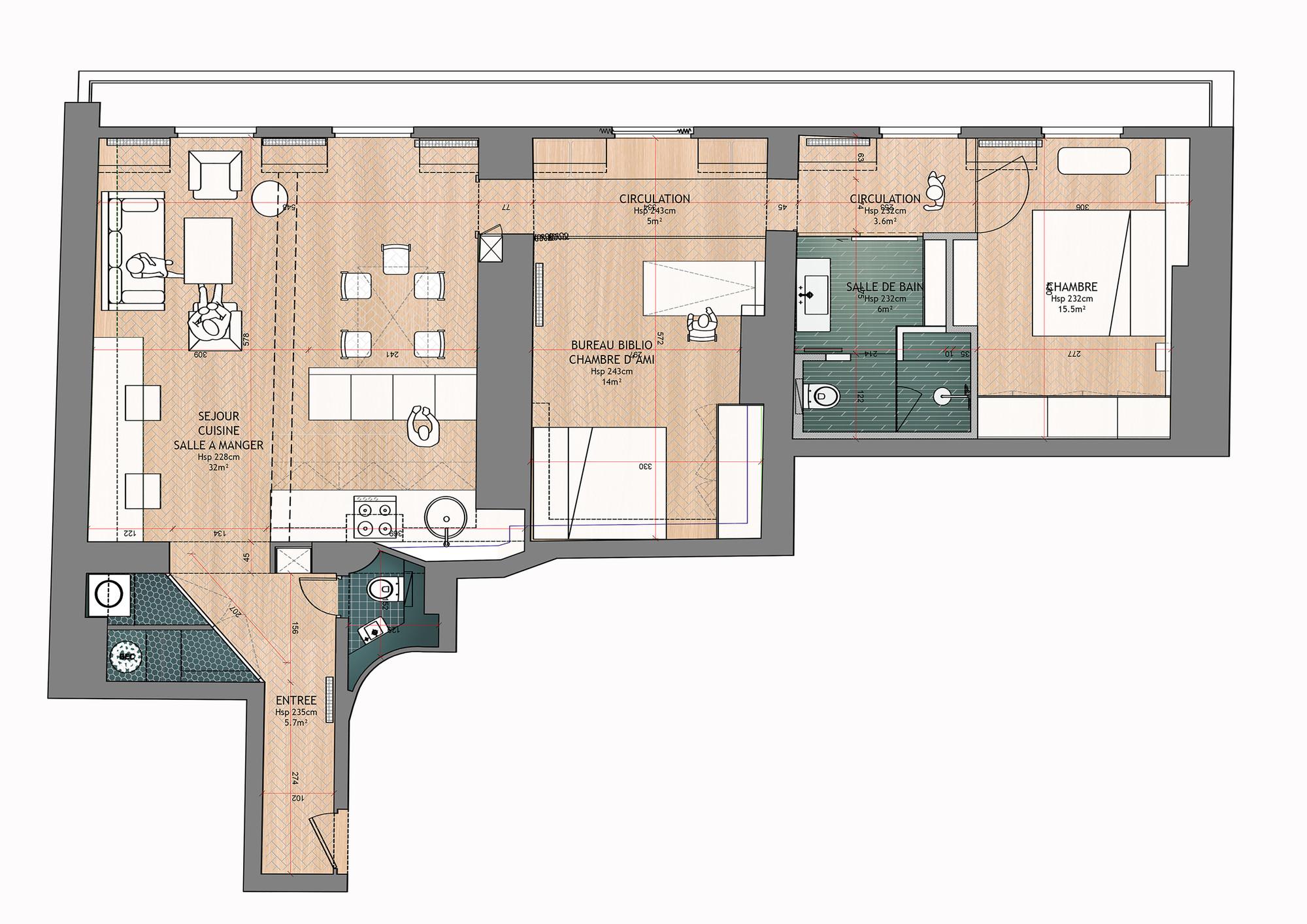 Large House Floor Plans Galer 237 A De Renovaci 243 N De Apartamento Para Un Fot 243 Grafo