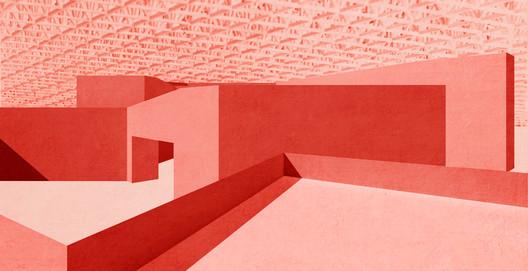 Conceptual Design. Image Courtesy of Carmody Groarke