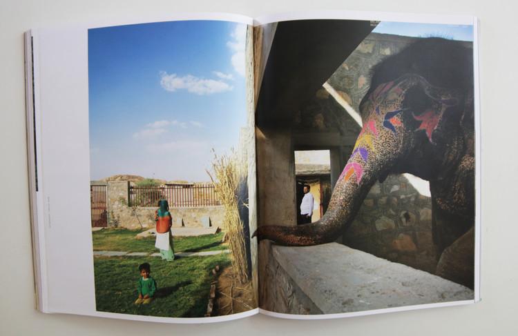 Hathigaon, viviendas de bajo costo para mahouts, Jaipur, India
