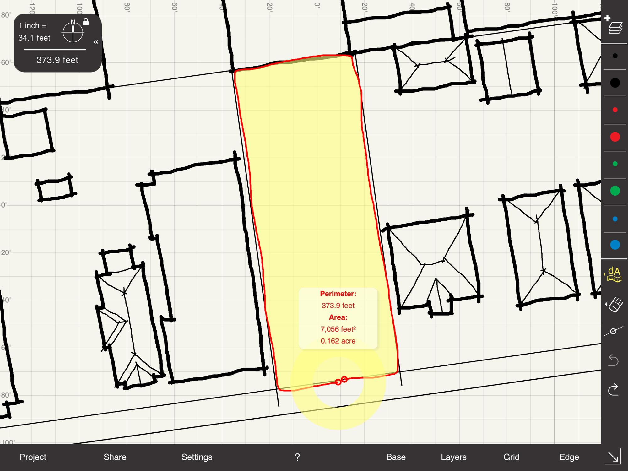 Precisión portátil : dibuja a escala en iOS, Cortesía de Arrette Scale