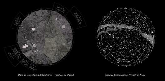 Constelación de Santuarios Agnósticos. Image Cortesia de Lucía Barrantes Egaña