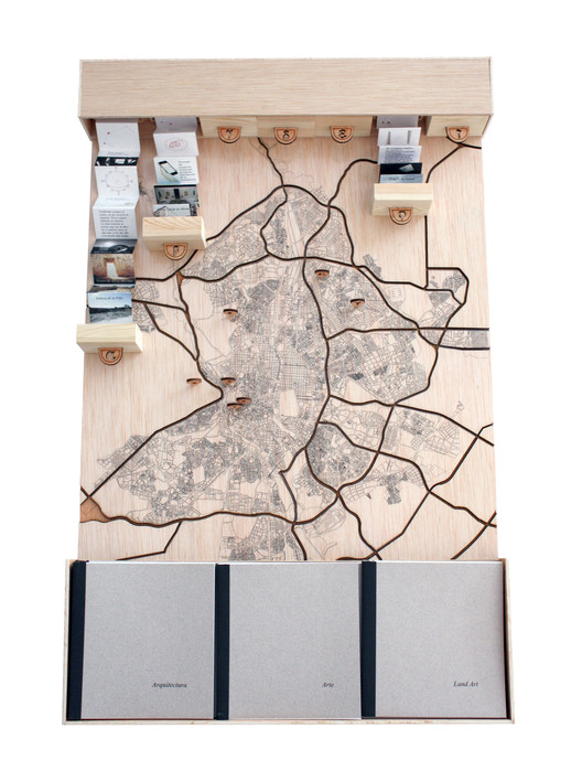 Maqueta de contexto. Image Cortesia de Lucía Barrantes Egaña