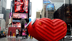 Stereotank's HeartBeat Fills the Air in Times Square