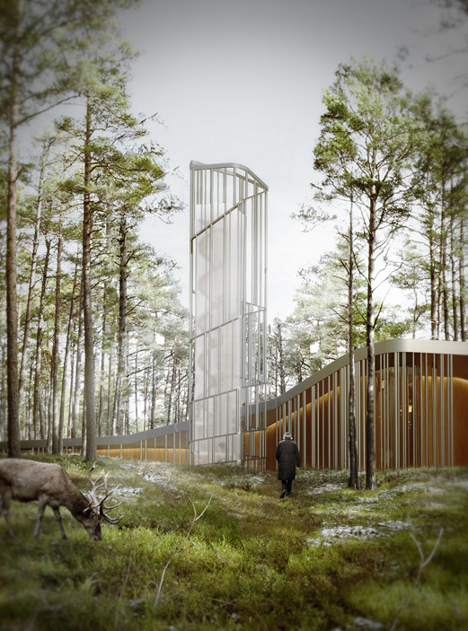 Exhibition of Nieto Sobejano Arquitectos Opens at the Museum of Estonian Architecture in Tallinn, Nieto Sobejano Arquitectos. Arvo Pärt Centre to be built in Estonia by 2018 (Rendering)