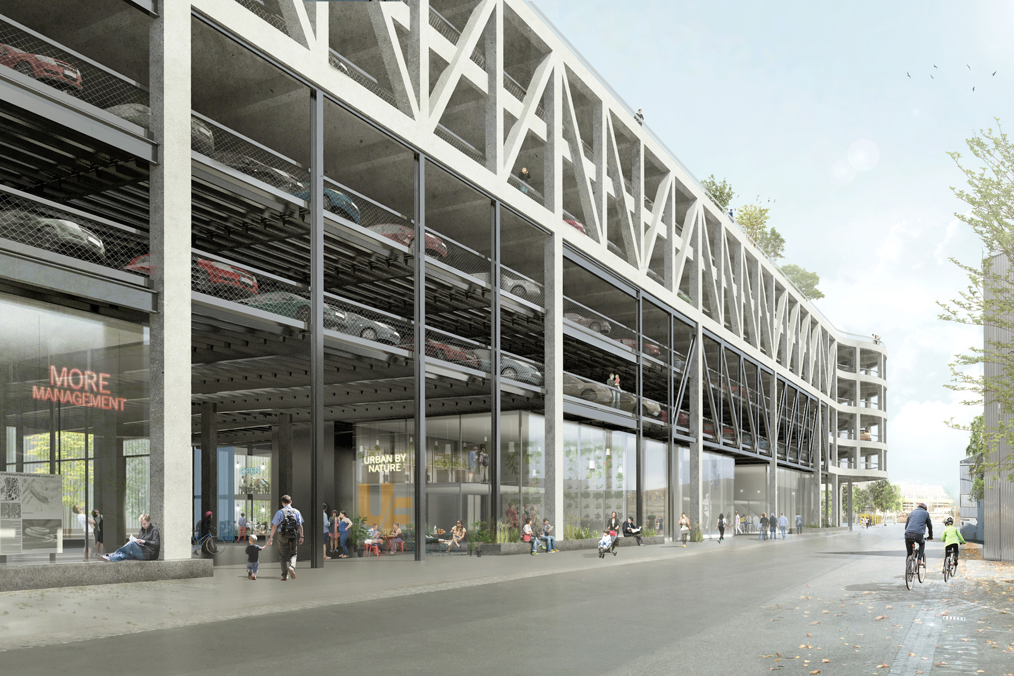 Gallery Of Hhf Architects Transform Existing Parking