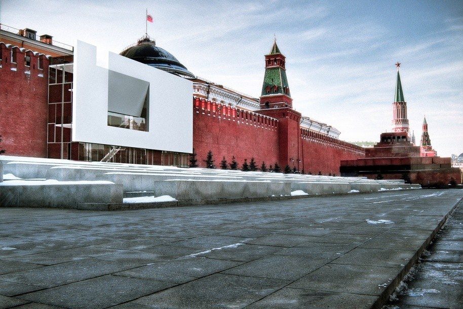 """A Message to Everybody"": The Red Square Pavilion Winners on Encouraging Tolerance with Architecture, Courtesy of HMMD"