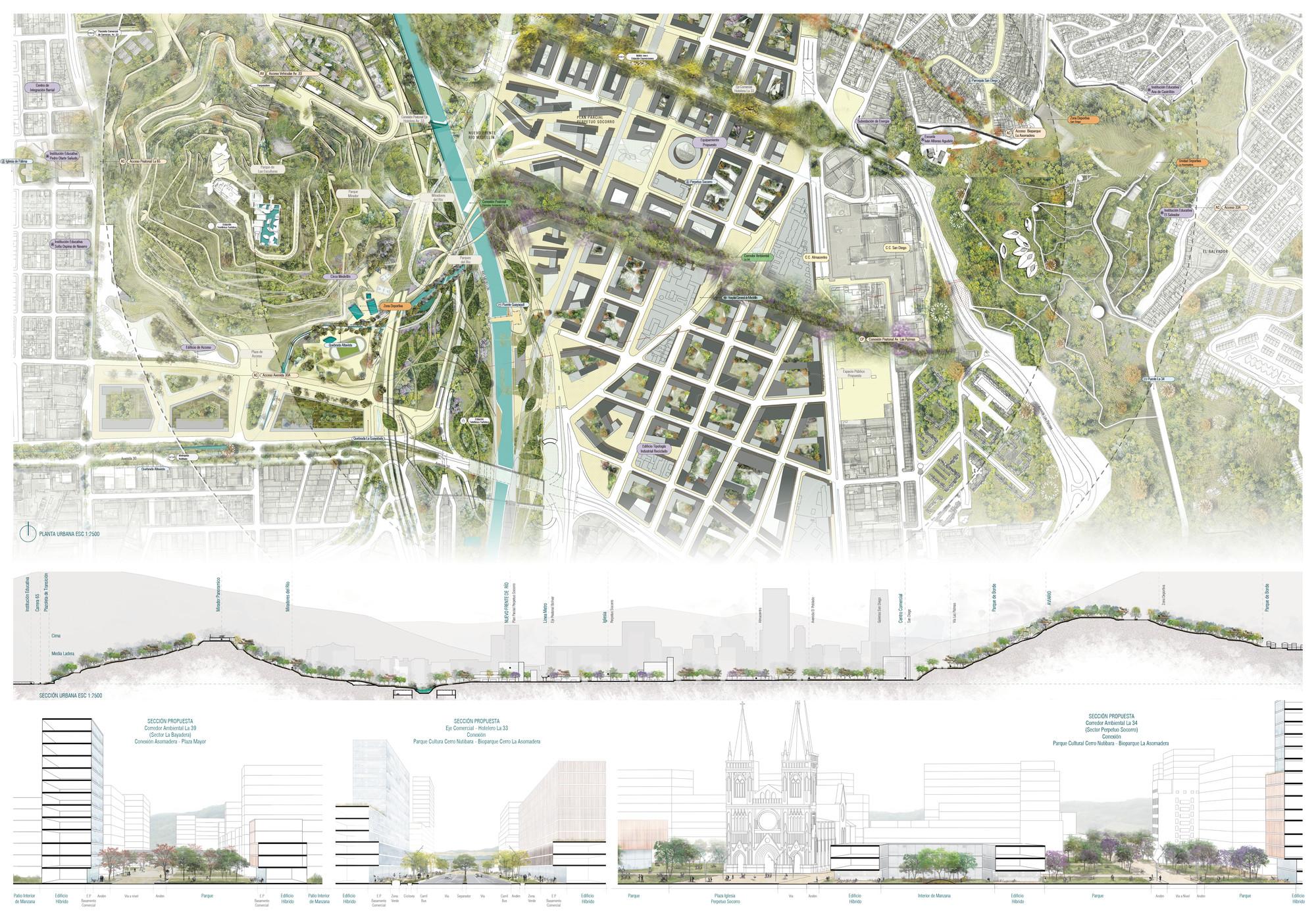 Galer a de c lula arquitectura segundo y tercer lugar por for Plan de arquitectura