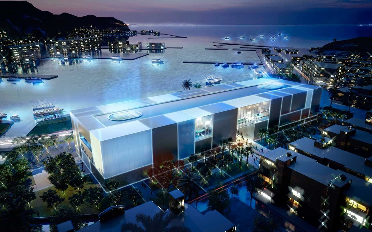 Foster + Partners Breaks Ground on Taiwan's National Museum of Marine Science and Technology , © Foster + Partners