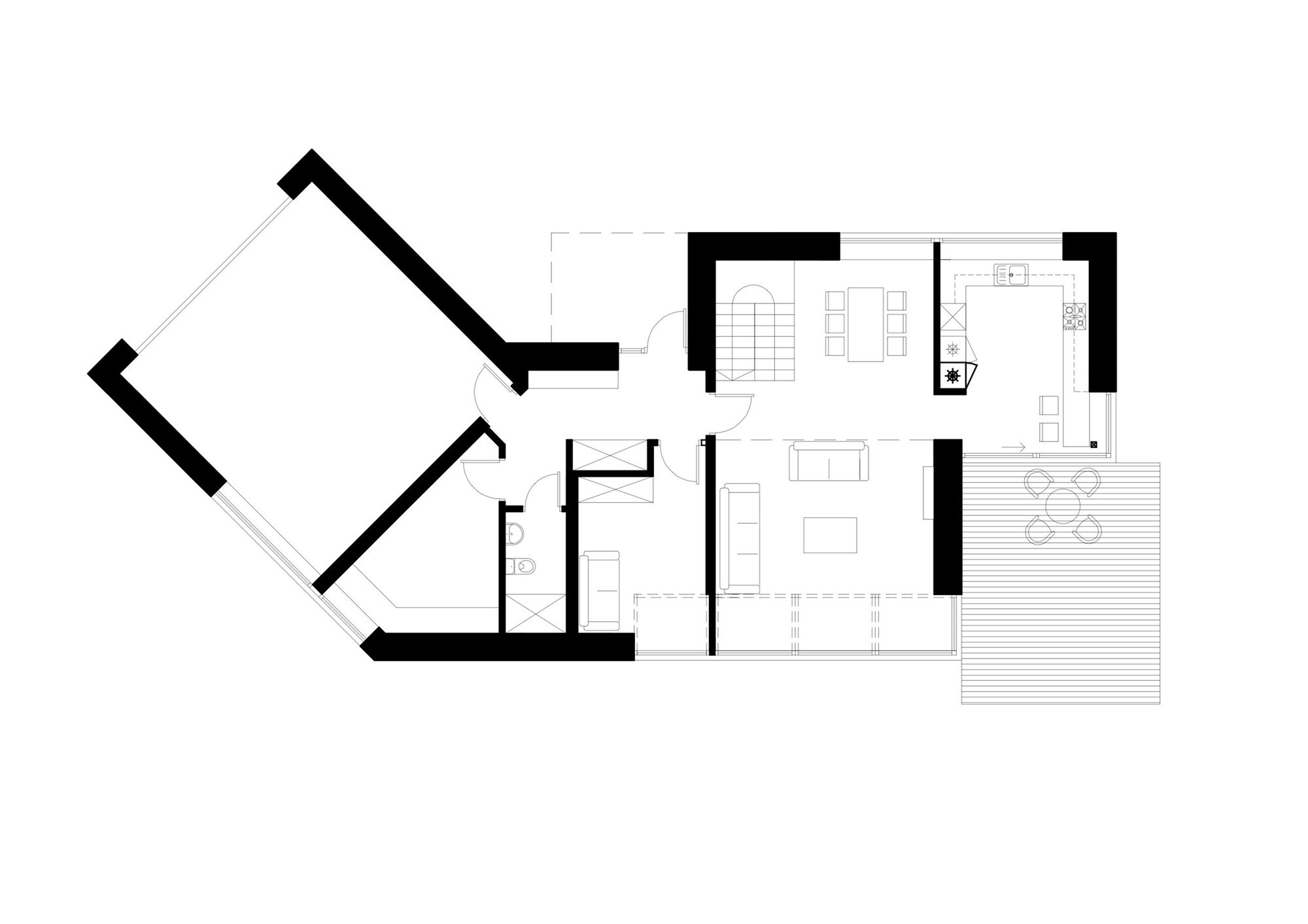 Gallery of Black House Blues   ARCHISPEKTRAS   Floor Plan