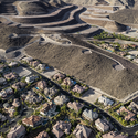 """Roma Hills"" Homes And Foreclosed ""Obsidian Mountain"" Development, ""Ascaya"" Lots Beyond, Looking South, Henderson, NV; 2012. Image © Michael Light, Lake Las Vegas/Black Mountain"