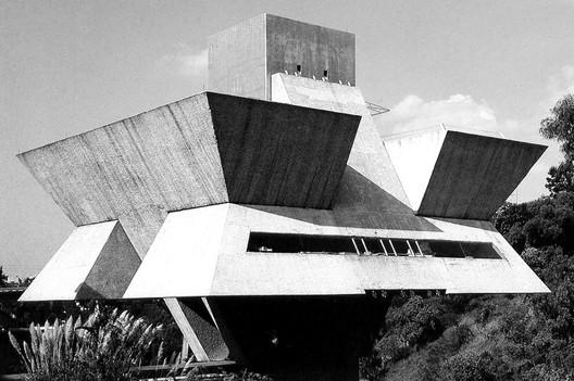 Estudio de Arquitectura, Agustín Hernández. Image Cortesía de Mi Moleskine Arquitectónico