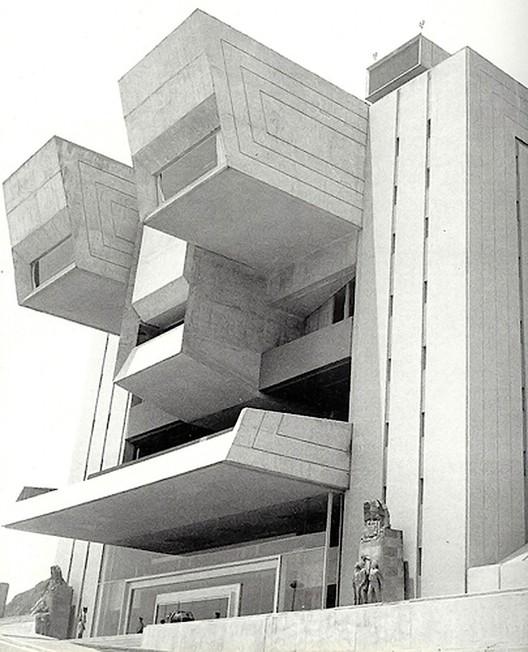 Academia Militar de México, Agustín Hernández. Image Cortesía Edgar González