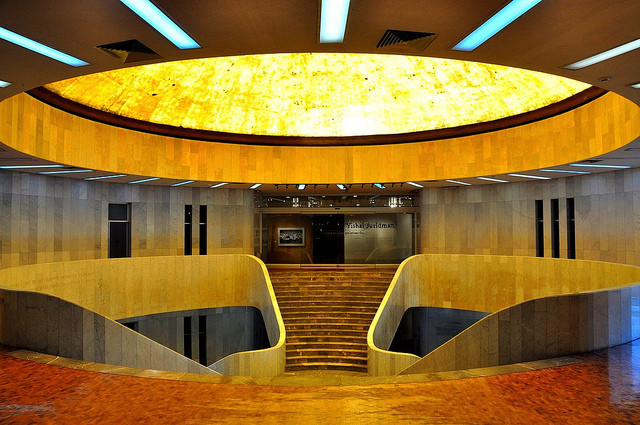 Museo de Arte Moderno, Pedro Ramirez Vázquez. Image Cortesía A Magazine