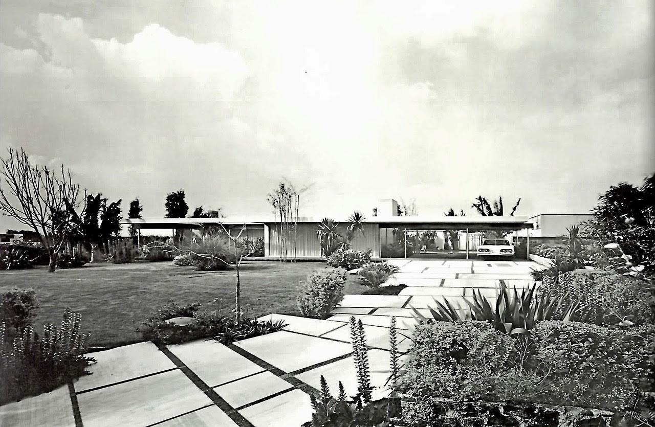 Residencia Galvez, Pedregal de San Angel, José Antonio Attolini Lack. Image Cortesía de Blogspot La forma moderna en Latinoamerica