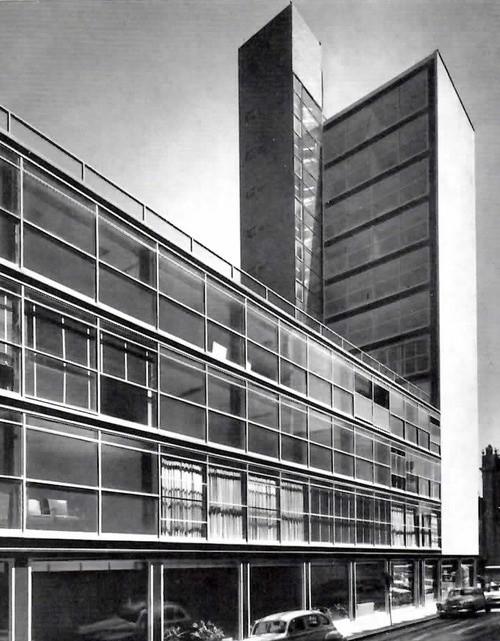 Banco del Valle de México, Augusto H. Álvarez. Image Cortesía de Tumblr Una Vida Moderna