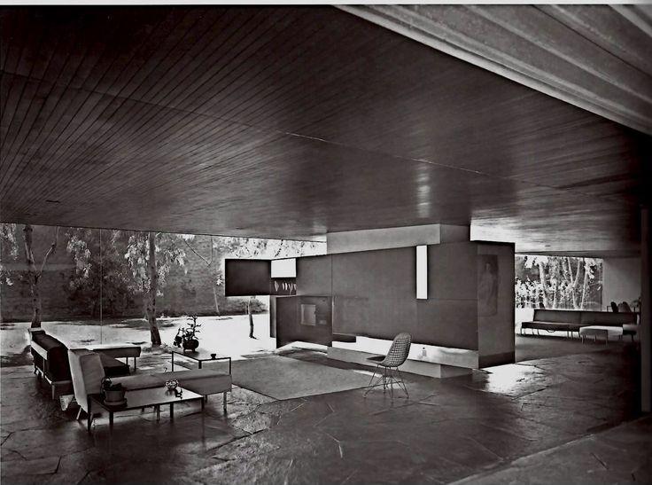 Casa Mauricio de la Lama, Víctor de la Lama y Ramón Torres et al . Image Cortesía de Tumblr una vida moderna