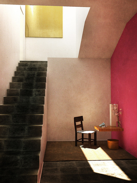 Casa Estudio Luis Barragán . Used under <a href='https://creativecommons.org/licenses/by-sa/2.0/'>Creative Commons</a>. Image Cortesía de Usuario de Flickr LrBln