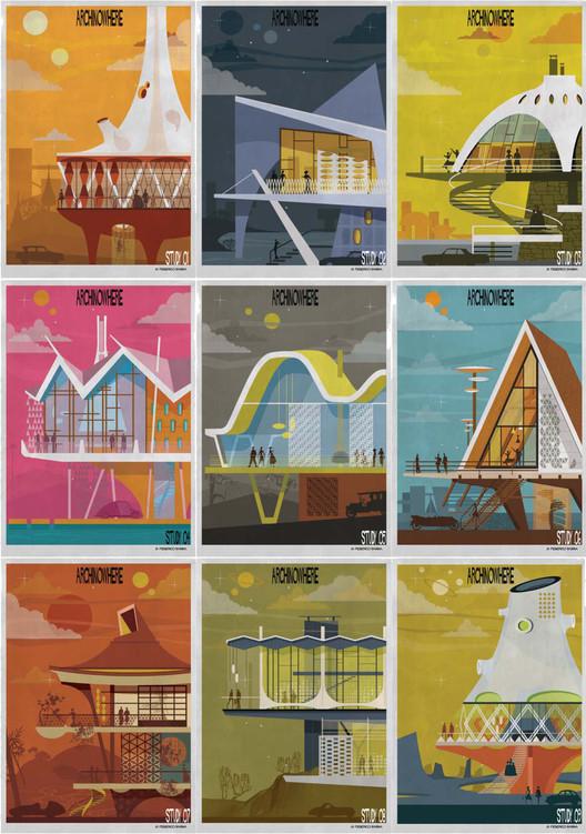 ARCHINOWHERE: El universo paralelo arquitectónico de Federico Babina, © Federico Babina