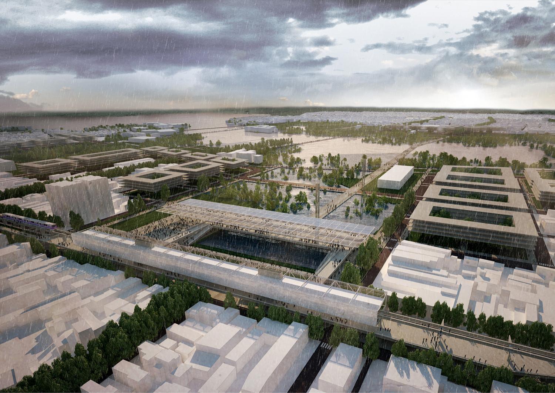 Nuevas Redes de Movilidad como catalizadoras de Proyectos Urbanos. Image Cortesia de Nahuel Recabarren