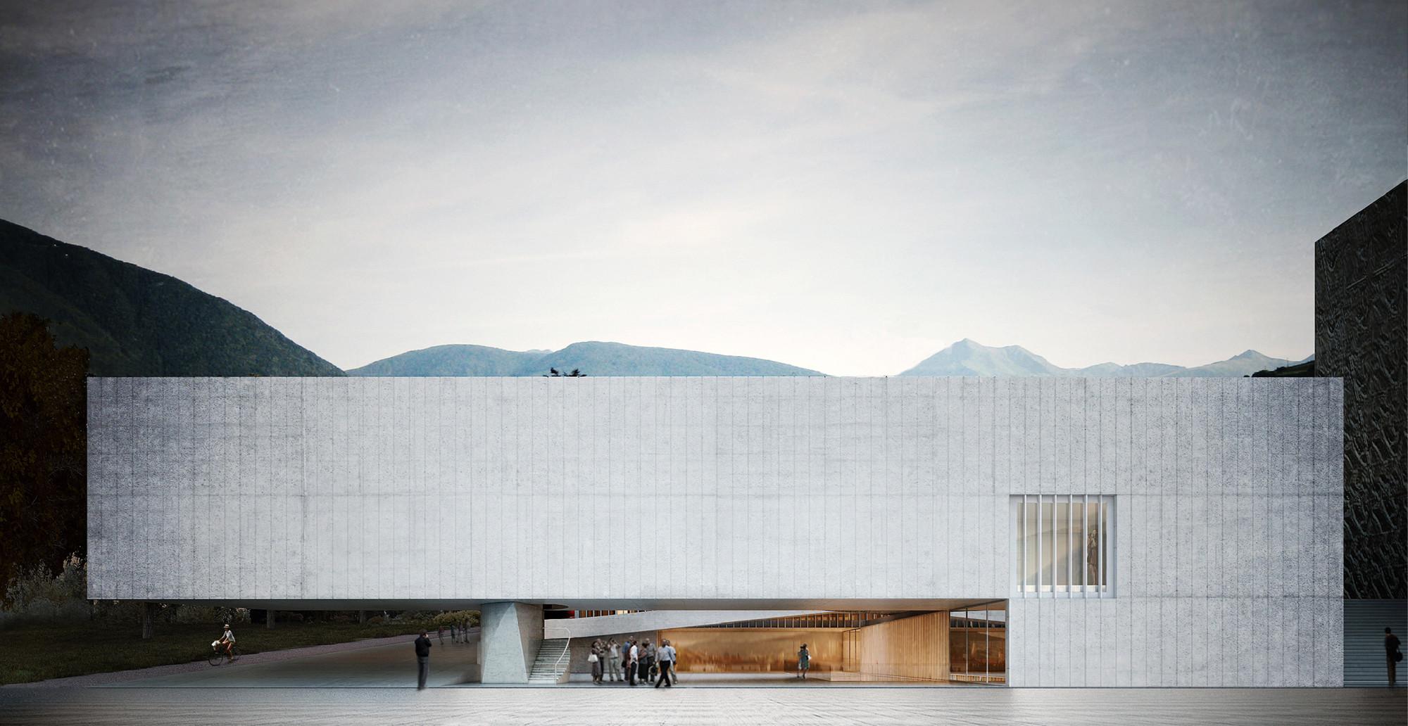 Aires Mateus + GSMM Architetti, mención honrosa por propuesta para futura escuela de música en Italia, Cortesia de Aires Mateus