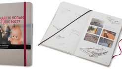 GIVEAWAY: Moleskine's Inspiration and Process in Architecture / Studio MK 27