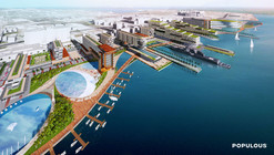 Populous Unveils Plan to Redevelop Jacksonville's Shipyards District