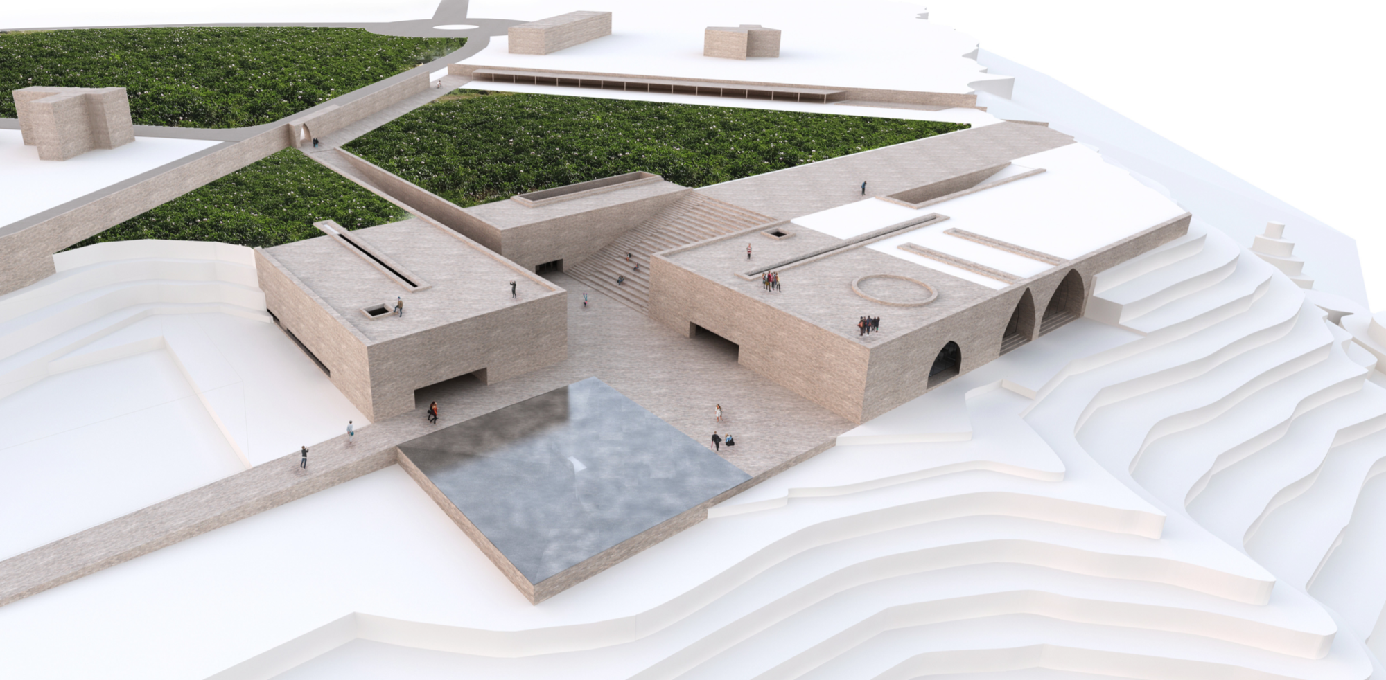 Winning Entry: Site Overview. Image Courtesy of UNESCO