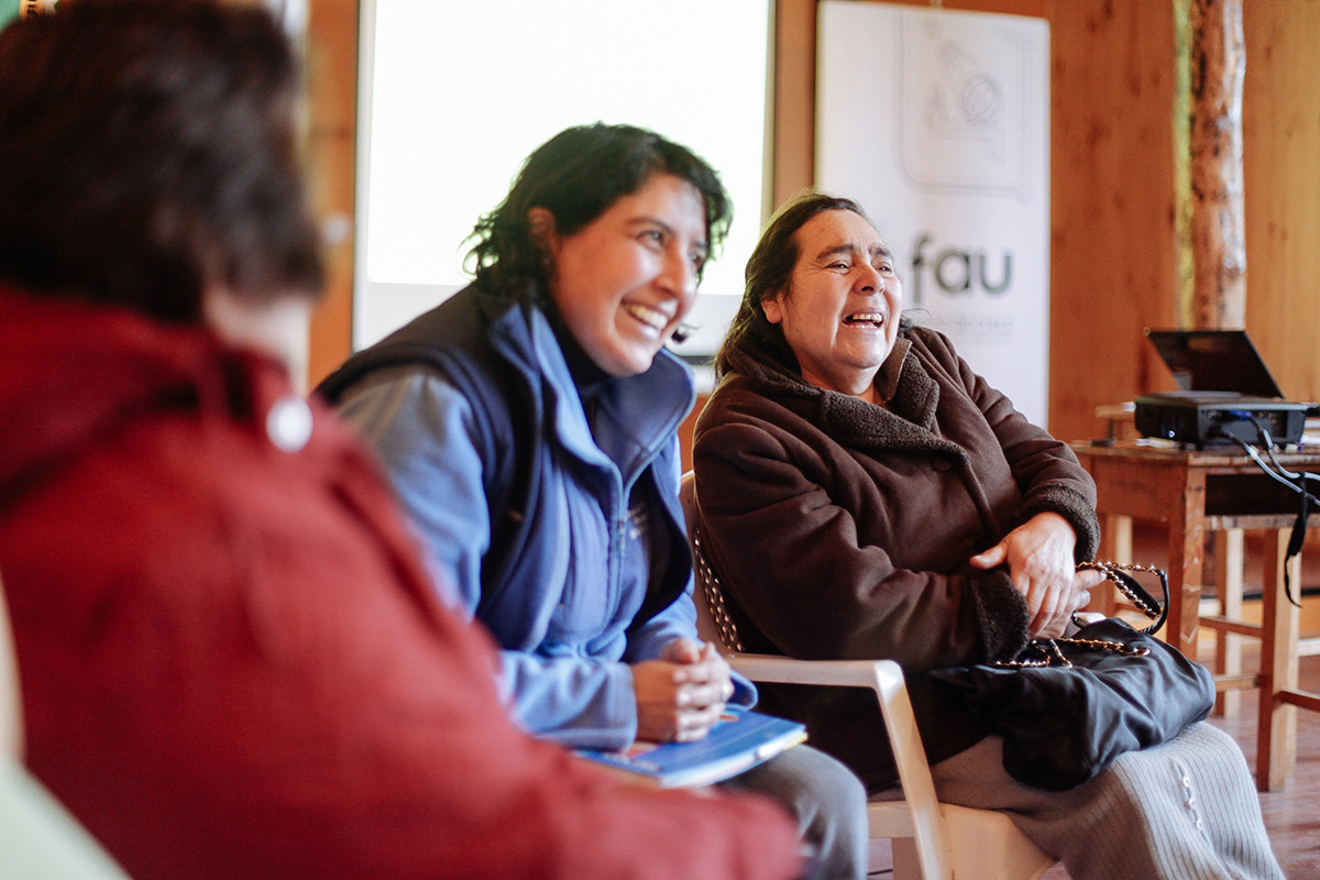 Tercera reunión multisectorial, entrega de resultados de la fase de Diagnóstico, Puqueldón 2012. Image © Carlos Hevia