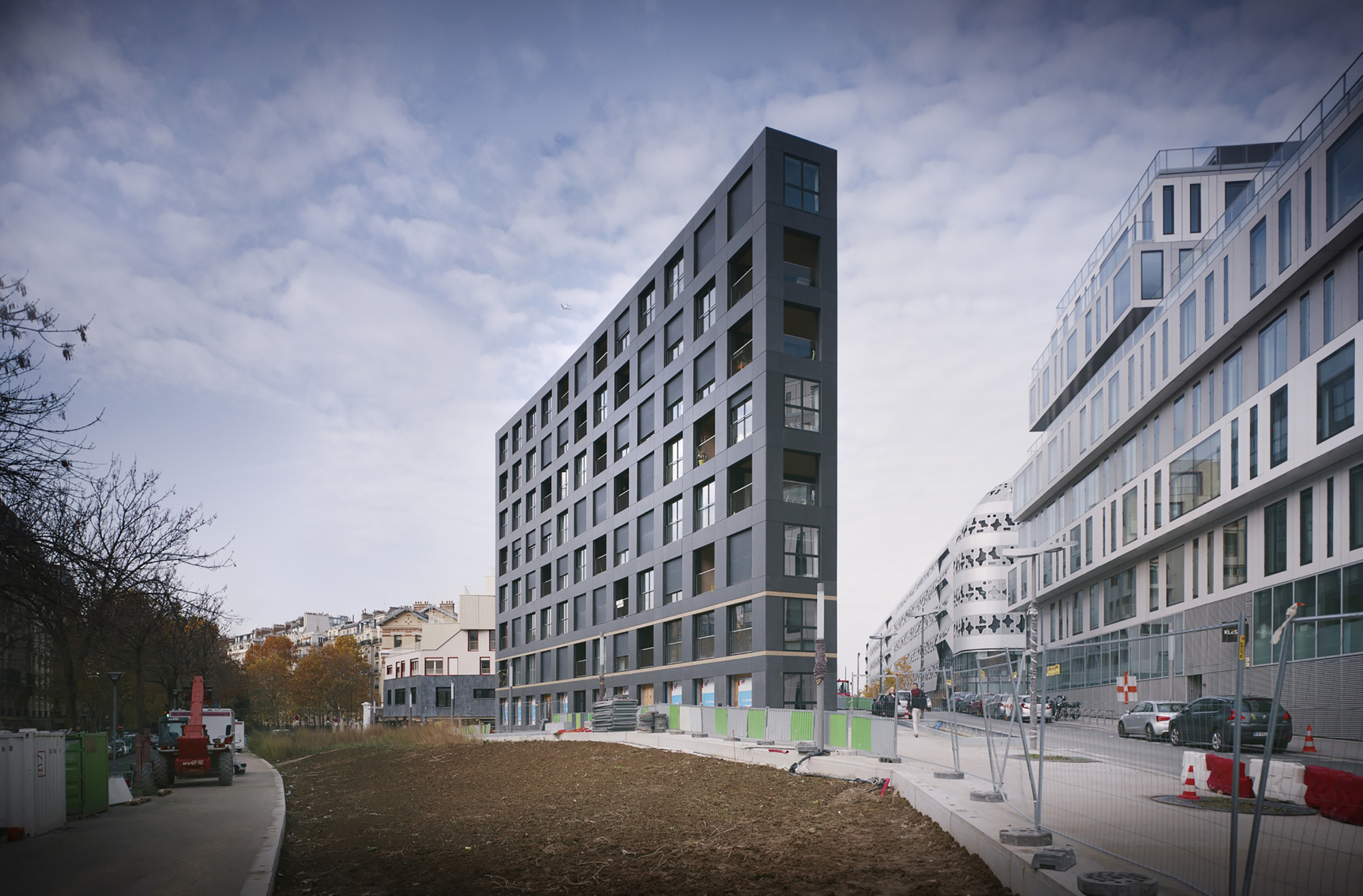 Gallery of 40 housing units lan architecture 9 for Architecture a voir a paris