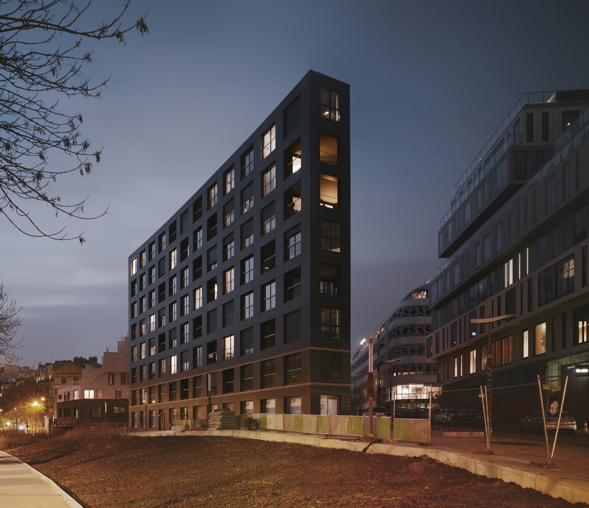 40 Housing Units Lan Architecture Archdaily