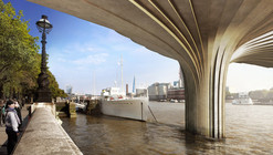 Arup Reveals Image Of Heatherwick's Garden Bridge 'Cupro-Nickel' Cladding