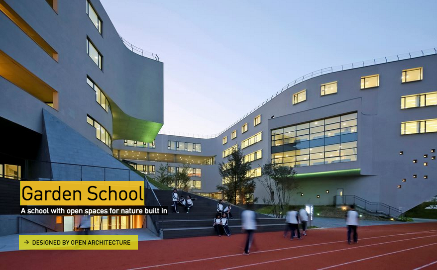 Garden School / OPEN Architecture. Imagen via Design Museum