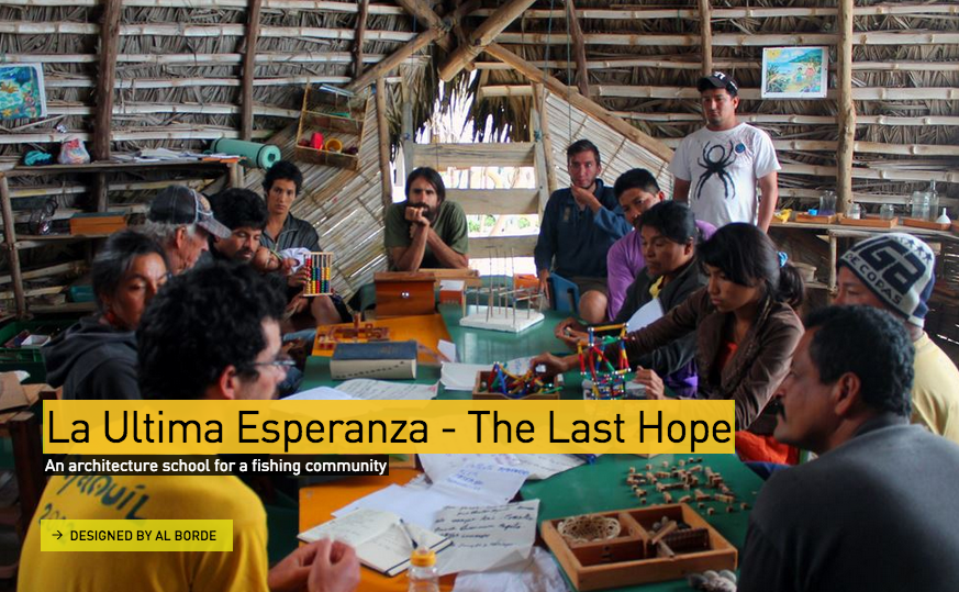 La Ultima Esperanza / Al BordE. Imagen via Design Museum