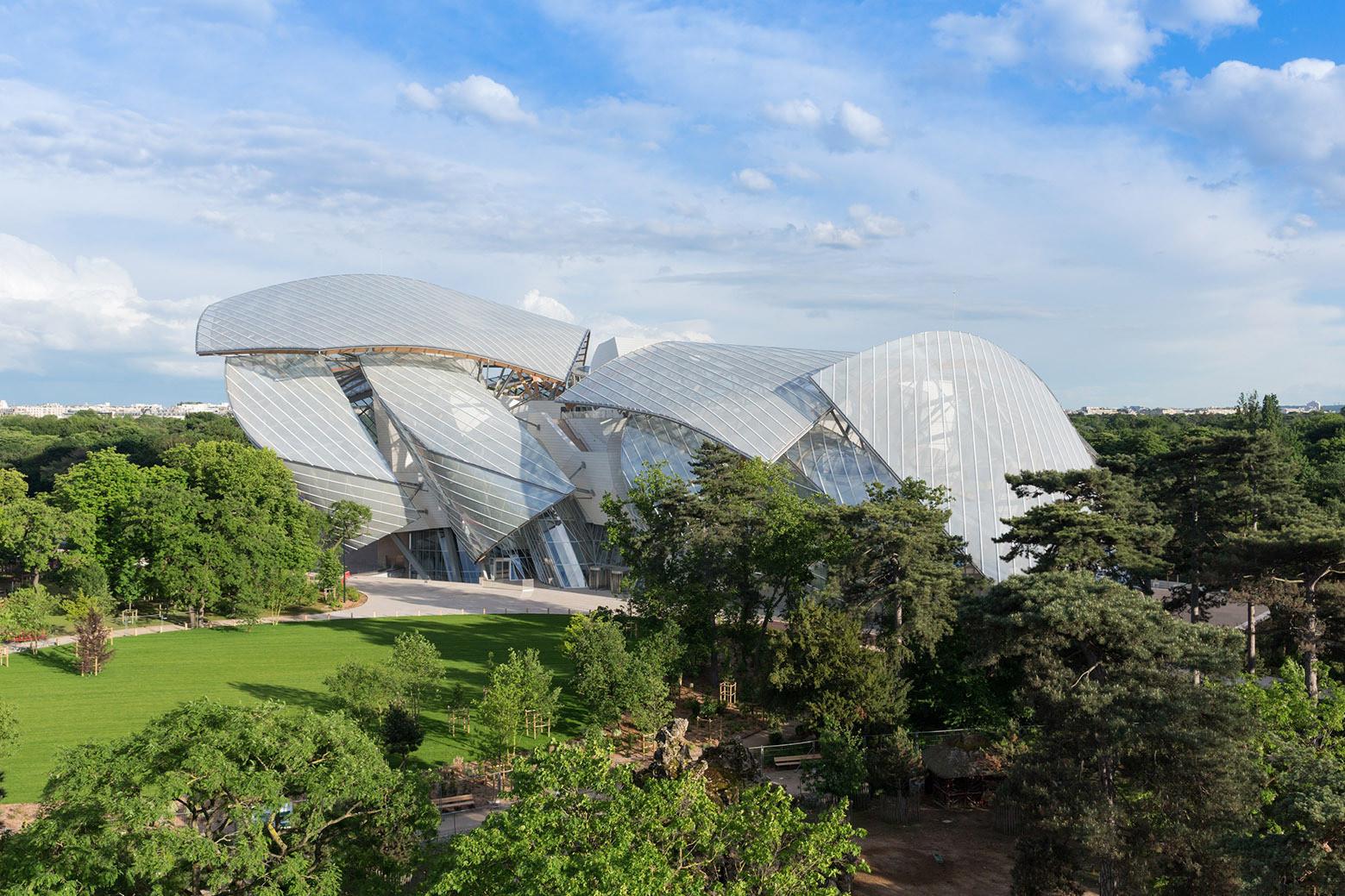 Fundación Louis Vuitton / Gehry Partners. Imagen © Iwan Baan