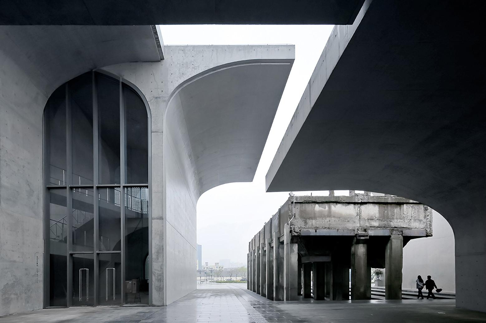 Museo Largo West Bund / Atelier Deshaus. Imagen © Su Shengliang