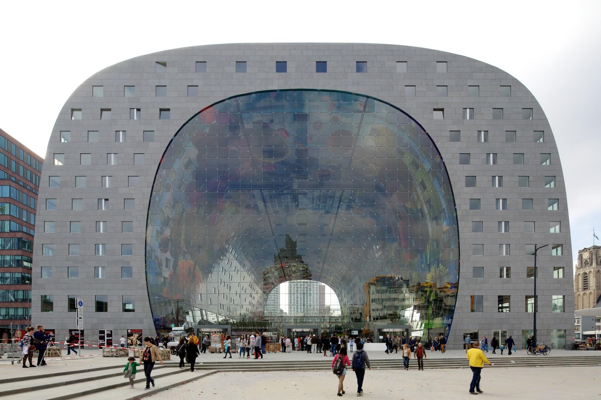Markthal Rotterdam / MVRDV. Imagen © Nico Saieh