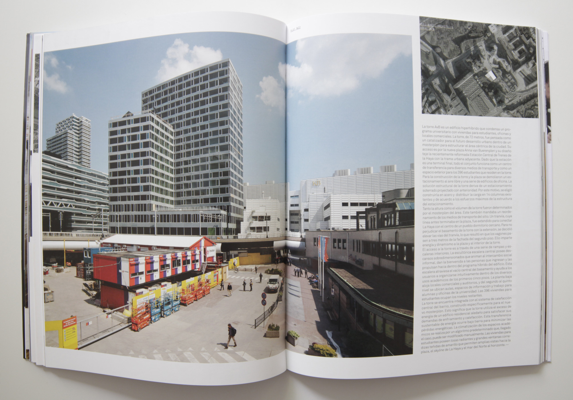 Torre A y B, Wiel Arets architects. Image Cortesia de PLOT